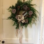Bespoke Festive Door Wreath